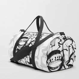 Weird Sensation - b&w Duffle Bag