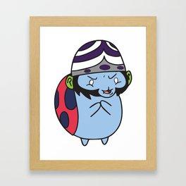 Catbug Mojojojo Framed Art Print