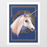 Unicorn Dreams Art Print