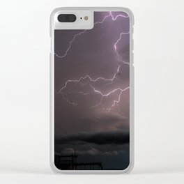 Spring Lightning Clear iPhone Case
