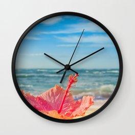peace love and aloha Wall Clock