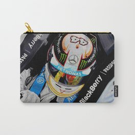 "Lewis Hamilton ""the Heat is on"" Carry-All Pouch"