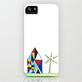 House in The Tropics iPhone Case
