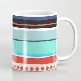 Pop Dot Line Coffee Mug