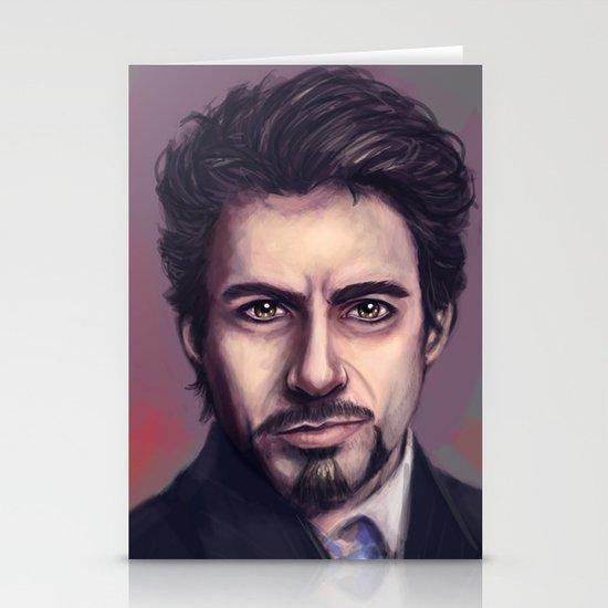 Tony Stark Stationery Cards
