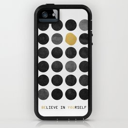 Be You / Gold Version iPhone Case