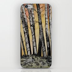 Row of Trees iPhone & iPod Skin