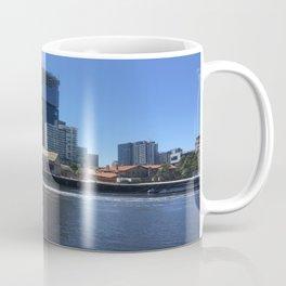 Melbourne City And Yarra River Coffee Mug