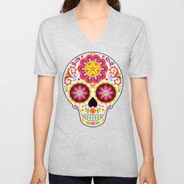 Sugar Skull (Mesmerize) Unisex V-Neck