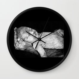 Baby in one hand Wall Clock