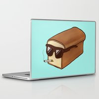 bread Laptop & iPad Skins featuring Cool Bread by Josh LaFayette