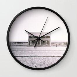 PradaMarfa - Black and White Version Wall Clock