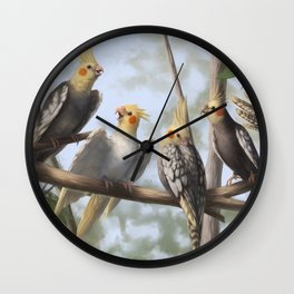 Cockatools Wall Clock