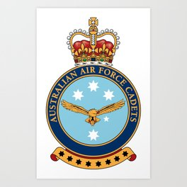 Australian Air Force Cadets Art Print