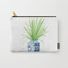 Ginger Jar + Fan Palm Carry-All Pouch