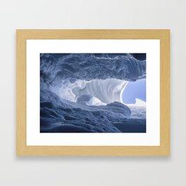 Matanuska Glacier Framed Art Print