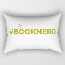#BOOKNERD with scar Rectangular Pillow