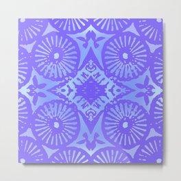 bowie: blue blue electric blue Metal Print