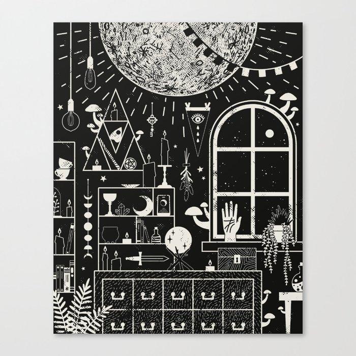 Moon Altar Leinwanddruck