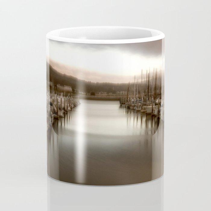 Unbalanced Half Moon Bay California Coffee Mug