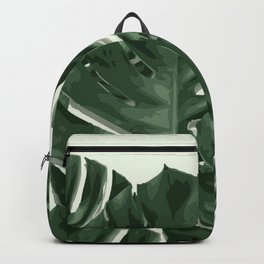 Monstera_Le_1 Backpack