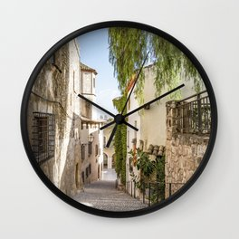 Beautiful Spanish Village Wall Clock
