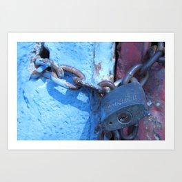 Lockdown  Art Print