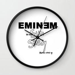 Marshall Bruce MathersEminem Wall Clock