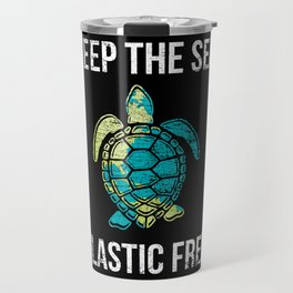 Turtle Animal Rights Activists Travel Mug
