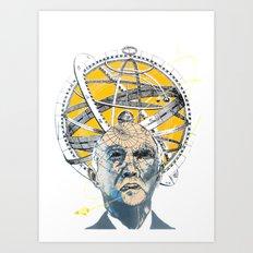 John Glenn Art Print