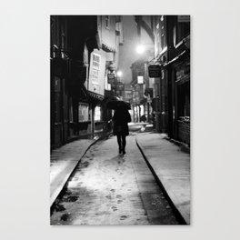 Tread Lightly Canvas Print