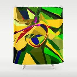 Engineered Emotions Shower Curtain