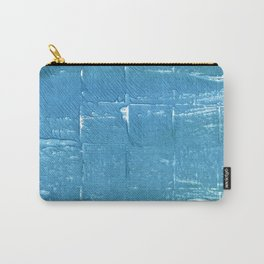 Carolina blue abstract watercolor Carry-All Pouch