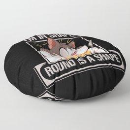 Fat Meme Jokes Chubby Funny Gift Floor Pillow