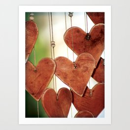 My Heart Chimes for You ~ Romance Series Art Print
