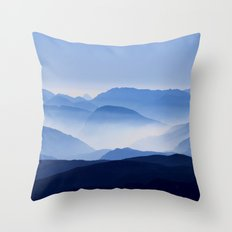 Mountain Shades Throw Pillow