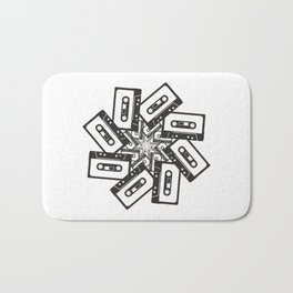Mix Tape Whirl Bath Mat