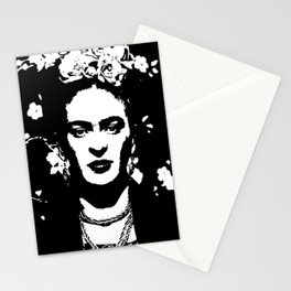 Black 'n white Frida Stationery Cards