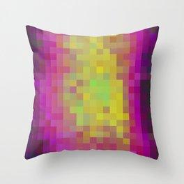Aqua Color Study Throw Pillow