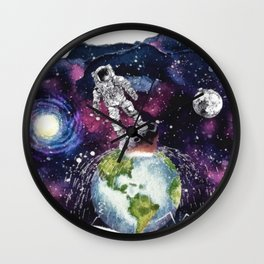 The Man Who Fell to Earth Wall Clock