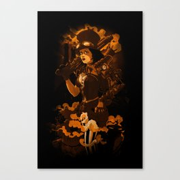 Steamy Canvas Print