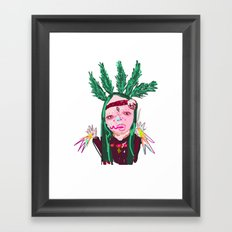 aHHHHHH #2 Framed Art Print
