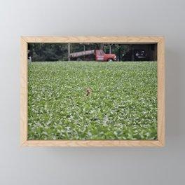 Peek-a-boo! Framed Mini Art Print