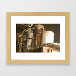 Rusty Paints Framed Art Print