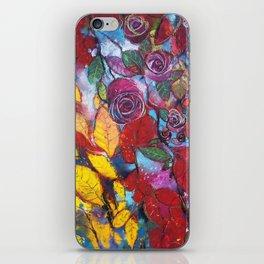 Roses garden iPhone Skin