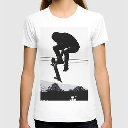 Flying High Skateboarder T-shirt