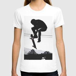 Flying High Skateboarder T-shirt