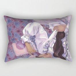 Words I never said Rectangular Pillow