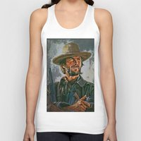 clint eastwood Tank Tops featuring  Clint Eastwood by andy551