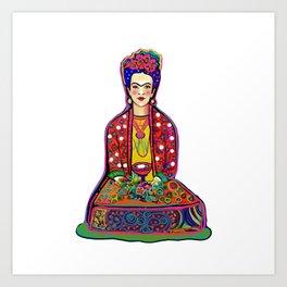 Frida Love Art Print